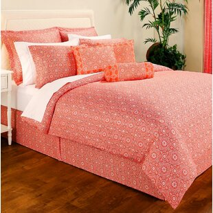 Creasey 100% Cotton Reversible Comforter Set by Bloomsbury Market