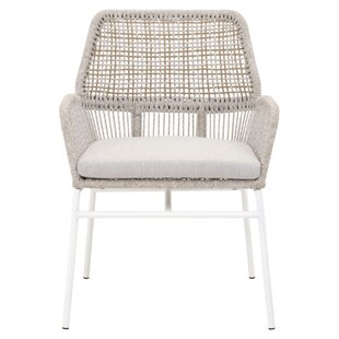 Vanhoy Knit Patio Dining Chair (Set of 2)
