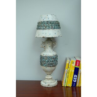 Nostalgia Rose Shade and Base 26.75 Table Lamp