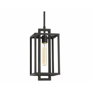 Read Reviews Tianna 1-Light Square/Rectangle Pendant By Union Rustic