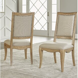 Althoff Woods Upholstered Dining Chair (Set of 2) One Allium Way