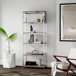 Mccarver Etagere Bookcase by Mercury Row