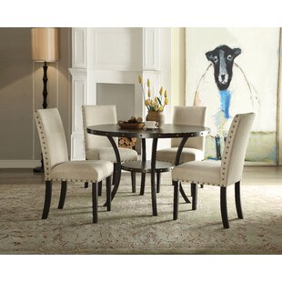 Bezu 5 Piece Dining Set Gracie Oaks