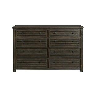 Gracie Oaks Panola 8 Drawer Double Dresser