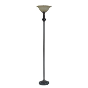 Red Barrel Studio Vezina 71'' Torchiere Floor Lamp