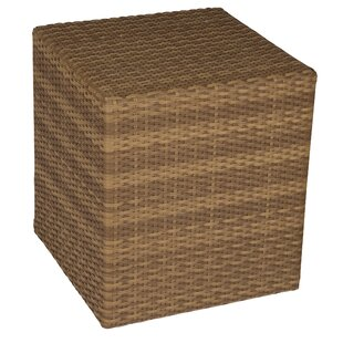 Saddleback Wicker Bunching Wicker Side Table