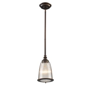 Ebern Designs Streff 1-Light Cone Pendant