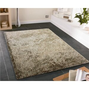 Amore Shag Brown Area Rug