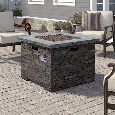 17 Stories Altair Stone Concrete Propane Fire Pit Table A Tremendous Home