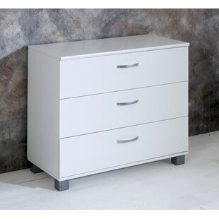 Review Booth 3 Drawer Dresser