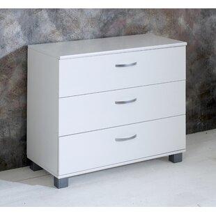 Check Price Booth 3 Drawer Dresser