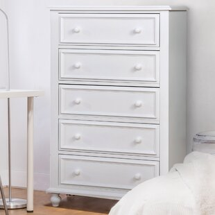 Eliot Traditional 5 Drawer Chest by Harriet Bee