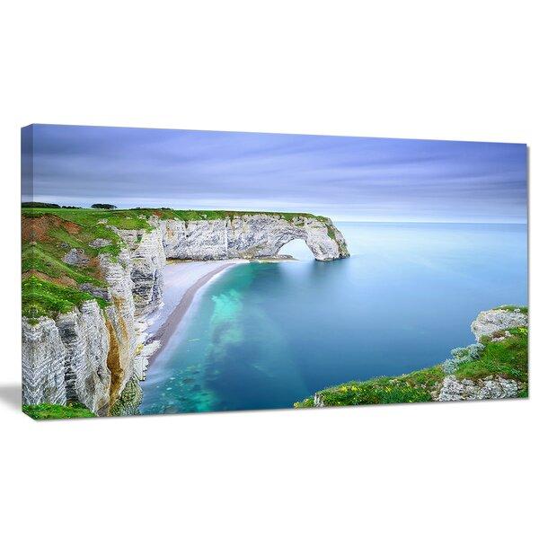 Designart Manneporte Natural Rock Arch Photographic Print On Wrapped Canvas Wayfair