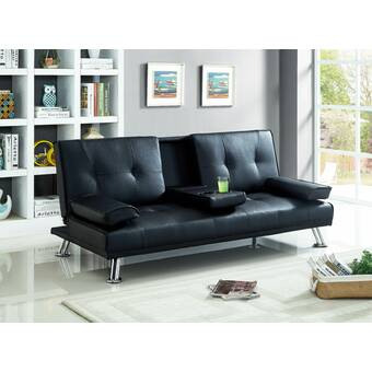 Ebern Designs Eliseo Convertible Sofa & Reviews | Wayfair