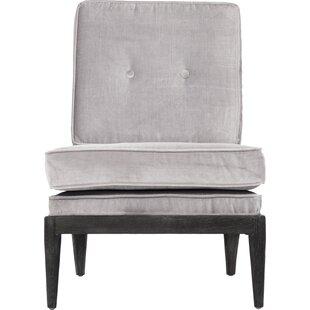 Lorain Slipper Chair by Zentique