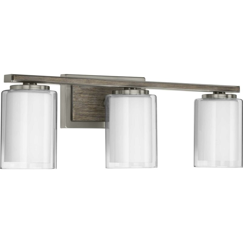 Alcott Hill Waddells 3 Light Dimmable Vanity Light Wayfair