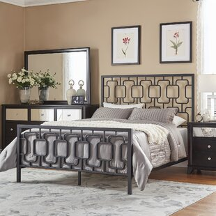 Compare Starnes Metal Panel Bed by Wrought Studio Reviews (2019) & Buyer's Guide