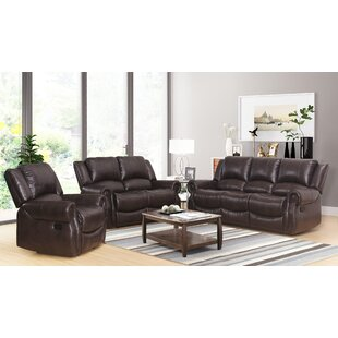 Digiovanni Reclining 3 Pieces Living Room Set