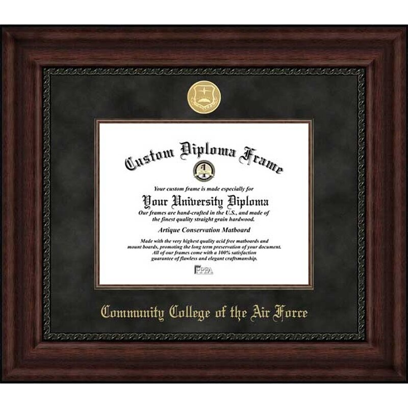 Diploma Frame Deals Community College Of The Air Force Executive Picture Frame Wayfair