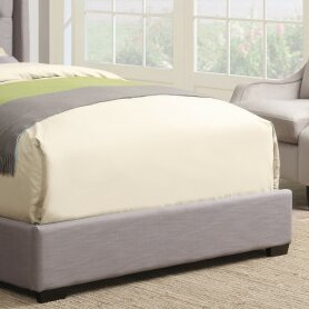 Basco Queen Upholstered Footboard by DarHome Co Find