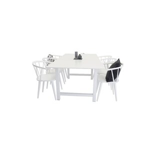 Lars Dining Set With 6 Chairs By House Of Hampton