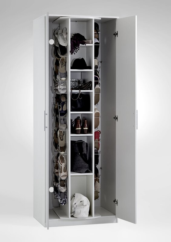 atlantic home collection schuhschrank antonio f r 40 paar schuhe bewertungen. Black Bedroom Furniture Sets. Home Design Ideas