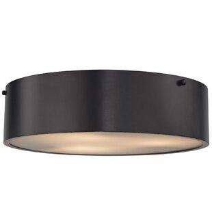 Brayden Studio Pumphrey 3-Light Flush Mount