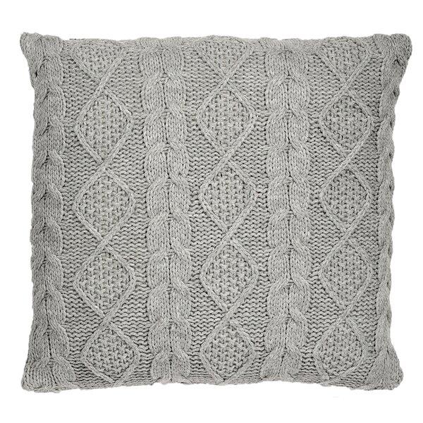Chunky Cable Knit Pillow Wayfair