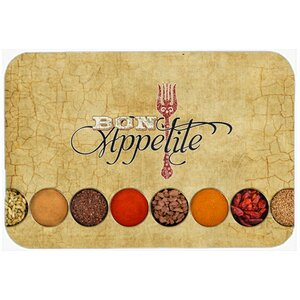 Bon Appetite and Spices Kitchen/Bath Mat