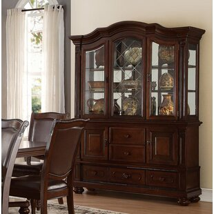 Cambria Buffet and Hutch China Cabinet by Alcott Hill