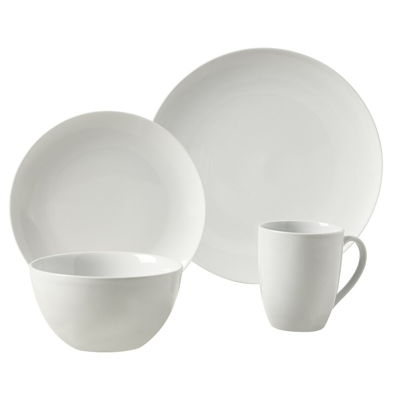 Adam 16 Piece Dinnerware Set Service for 4  sc 1 st  Wayfair & Tabletops Gallery Adam 16 Piece Dinnerware Set Service for 4 ...