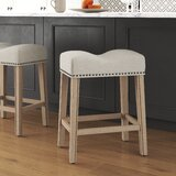 Midsomer 24 Bar Stool (Set of 2) by Charlton Home®