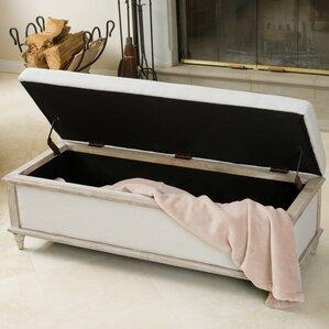 bedroom benches. Serene Upholstered Storage Bench Modern Bedroom  Benches AllModern