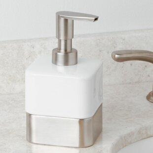 Bargain Blocton Soap Dispenser ByWrought Studio