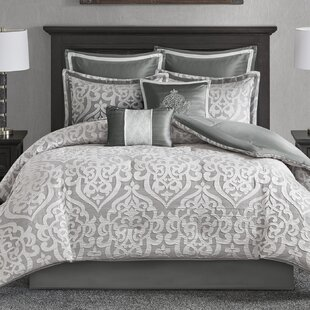 House of Hampton Tess 8 Piece Comforter Set