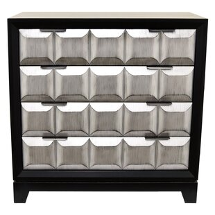 Mcfee Wood 4 Drawer Accent Chest By Ivy Bronx