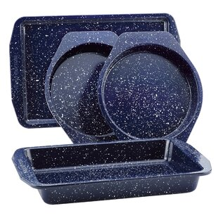 Speckled 4 Piece Non-Stick Bakeware Set