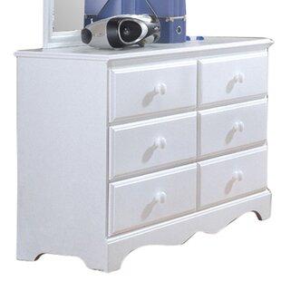 Kai 6 Drawer Dresser by Harriet Bee