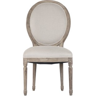 Medallion Upholstered Dining Chair Zentique