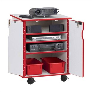 Rainbow Accents? Presentation AV Cart by Jonti-Craft