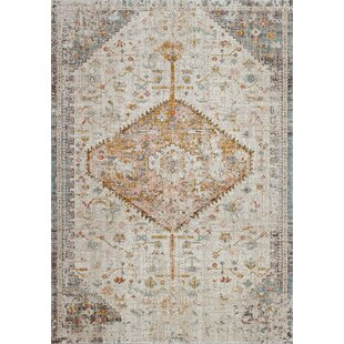 Hager Beige Indoor/Outdoor Area Rug