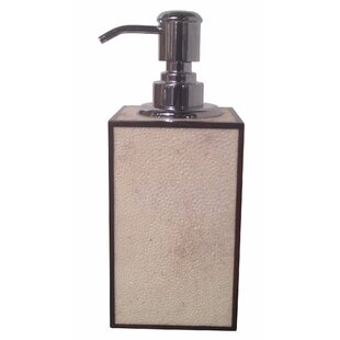 Oggetti Shagreen Soap & Lotion Dispenser