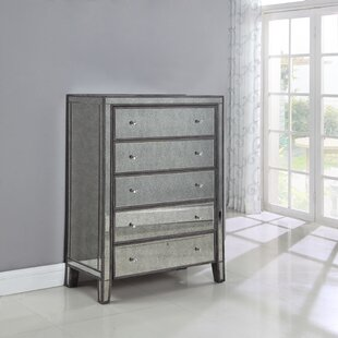 Maron 5 Drawer Chest by Rosdorf Park Today Only Sale