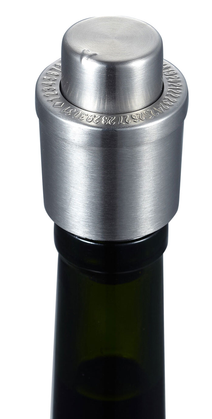 Silver Wine Stoppers Bar Wine Tools You Ll Love In 2021 Wayfair