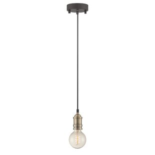 Ady 1-Light Bulb Pendant by Williston Forge