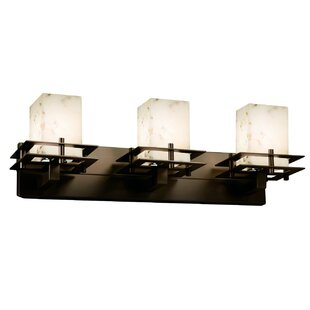 Crosson 3-Light Vanity Light by Rosecliff Heights