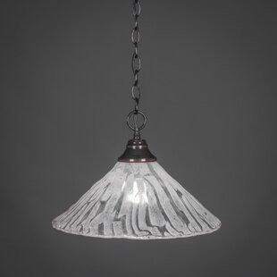 Red Barrel Studio Chancery 1-Light Bowl Pendant