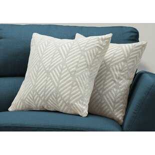 Jase Geometric Design Throw Pillow (Set of 2)
