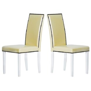 Warehouse of Tiffany Blazing Parsons Chair (Set of 4)