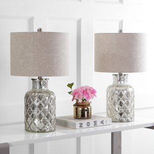 Gilles LED Glass 25 Table Lamp (Set of 2)